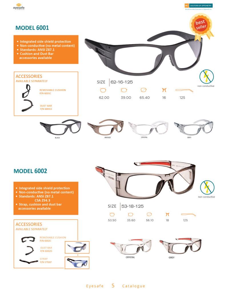EyeSafe Catalogue